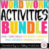 Word Work Super MEGA Pack Bundle