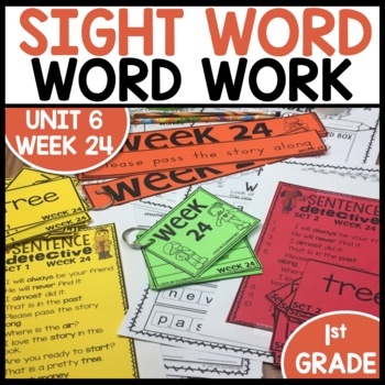 Word Work (Unit 6 Week 4)