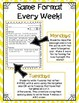 Word Work - Weekly Activities for the Whole Year - 1st Grade