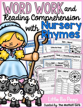 Word Work and Reading Comprehension with Nursery Rhymes: L