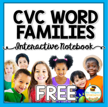 CVC Word Family Freebie