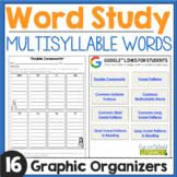 Word Work: Multisyllable Words