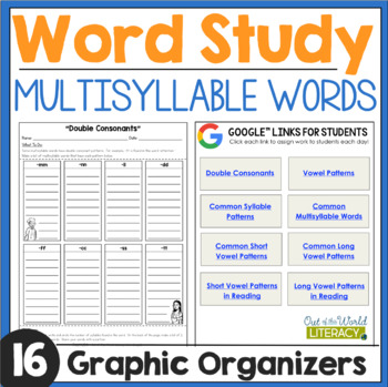 Word Work: Multisyllable Words