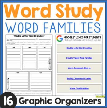 Word Work: Word Families