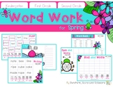 Word Work for Spring