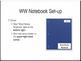 Word Works Interactive Notebook Set-up Slideshow