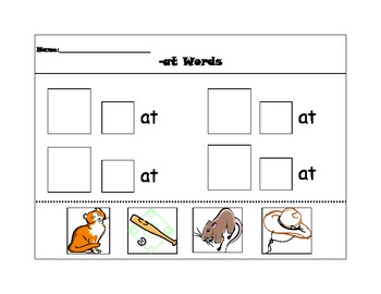 Word families pack