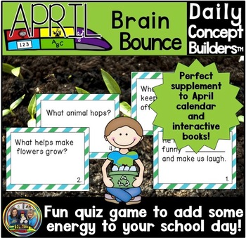 Word of the Day April Vocabulary Game