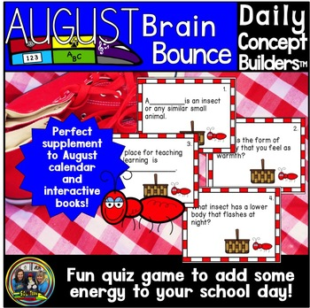 Word of the Day August Brain Bounce