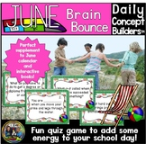 Word of the Day June Vocabulary Game