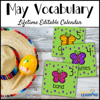 Word of the Day May Calendar