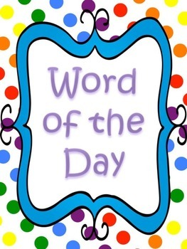 Word of the Day Preview