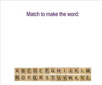 Word of the Day:  Scrabble Style