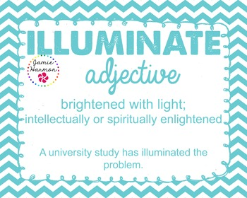 Word of the Week - Illuminate