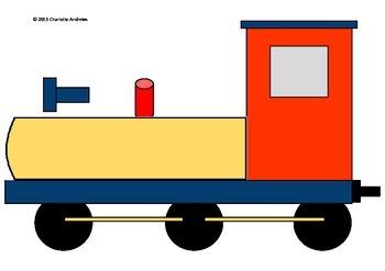 Word of the Week Train Display/Poster