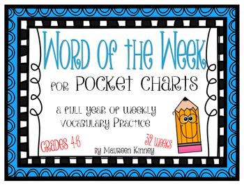 Word of the Week for Intermediate Grades