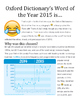 Word of the Year: Emoji Guided Close Reading