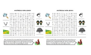Word search - Dot and Jabber - vocabulary