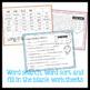 Long Vowel O worksheets