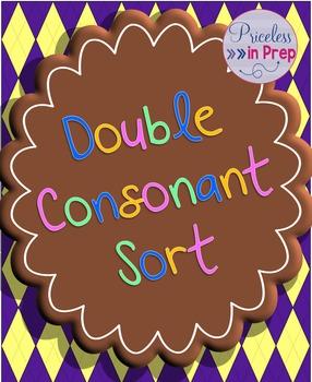 Word sort- double consonants