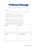 Word study worksheet