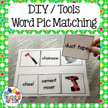 Free Word Picture Matching - Tools , DIY