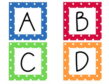 Word wall, Leveled library, ABCs