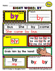 WordPlay: BY (Sight Word activities)