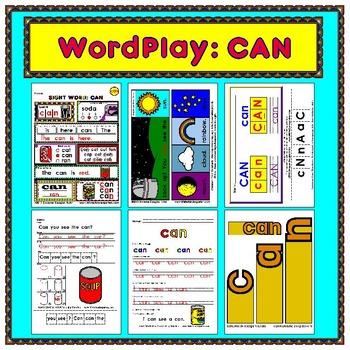 WordPlay: CAN (Sight Word activities)