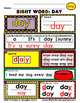 WordPlay: DAY (Sight Word activities)