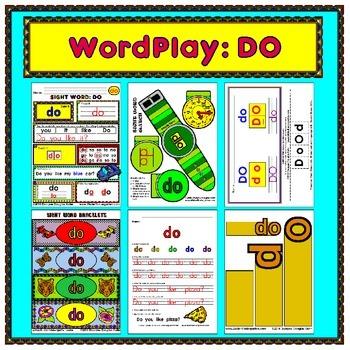 WordPlay: DO (Sight Word activities)