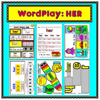 WordPlay: HER (Sight Word activities)
