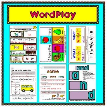 WordPlay MEGA BUNDLE (Sight Word activities)