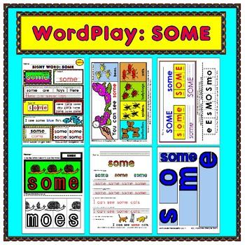 WordPlay: SOME (Sight Word activities)