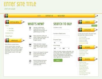 WordPress Theme - Pencil Pusher