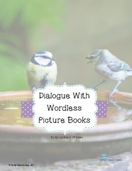 Wordless Picture Book Dialogue Activity
