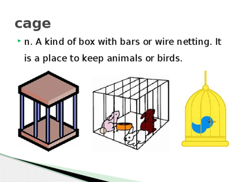 Wordly Wise Book 2, Lesson 8, Power Point