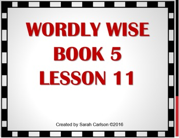 Wordly Wise Book 5 Lesson 11