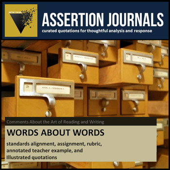Words About Words: Assertion Journal Prompts about Reading