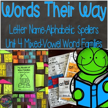 Words Their Way Letter Name Alphabetic Spellers Mixed-Vowe