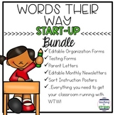 Words Their Way Start Up Bundle