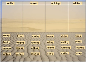 Words Their Way Syllables and Affixes sort 4