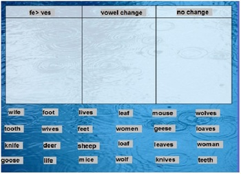 Words Their Way Syllables and Affixes sort 8