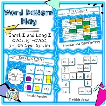 Words Their Way - Within Word Pattern - Sort 22 Dominoes