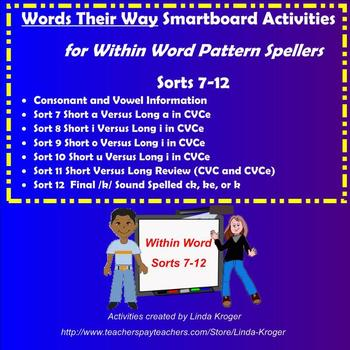 Words Their Way-Within Word Sorts 7-12 Interactive Games (