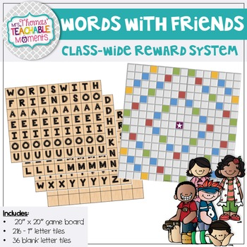 Classroom Management - Words With Friends - A Class-Wide R