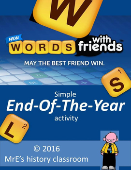 Words With Friends activity