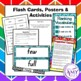 Words of Measure Vocabulary Pack- Word Lists, Flash Cards