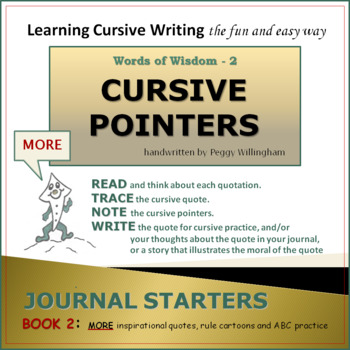 Words of Wisdom with Cursive Pointers - Book 2