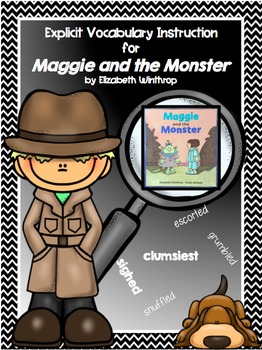 Words of the Week - Maggie and the Monster